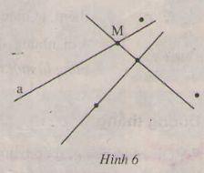 Điểm, đường thẳng - Hình học 6