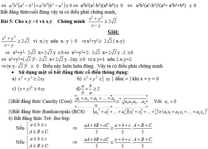 Bất đẳng thức, tìm giá trị min-max của biểu thức-3