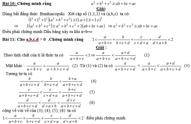 Bất đẳng thức, tìm giá trị min-max của biểu thức-6