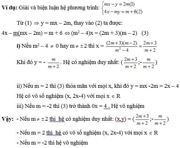 Chuyên đề hệ phương trình bậc nhất hai ẩn số-4