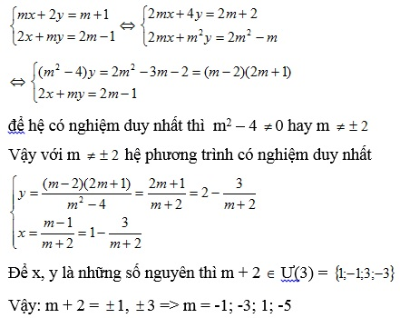 Chuyên đề hệ phương trình bậc nhất hai ẩn số-6