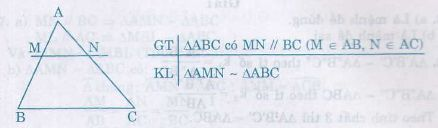 Định nghĩa, tính chất hai tam giác đồng dạng-2