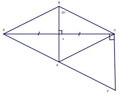 Cách chứng minh hai góc bằng nhau, hai đoạn thẳng bằng nhau qua ví dụ-2