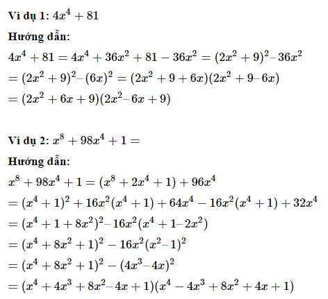Phương pháp phân tích đa thức thành nhân tử - Toán 8-2.2
