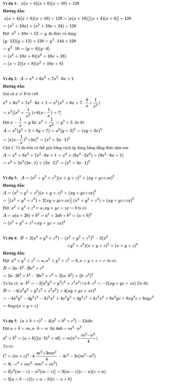 Phương pháp phân tích đa thức thành nhân tử - Toán 8-3