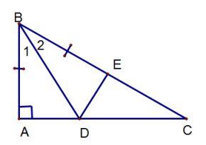 Ví dụ cách chứng minh hai tam giác bằng nhau-2