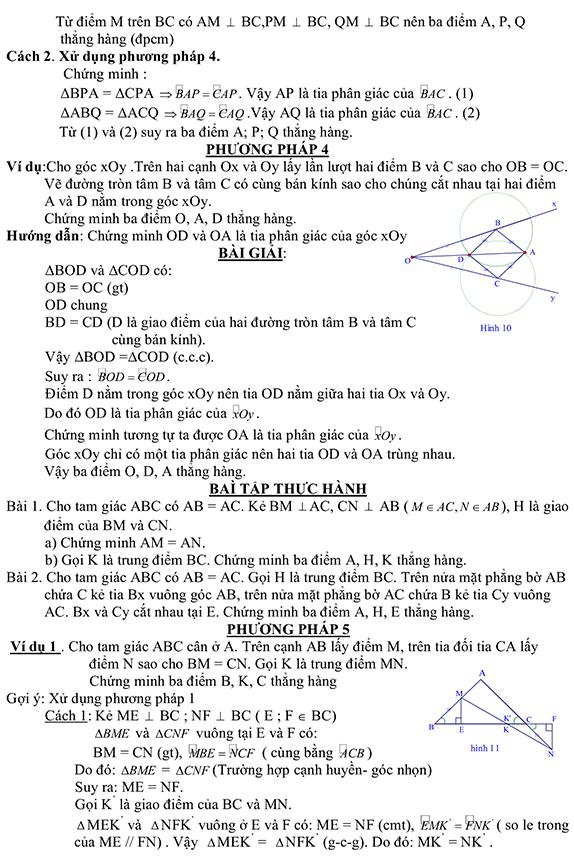 Phương pháp chứng minh 3 điểm thẳng hàng-4