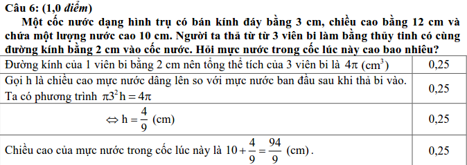 Đề thi tuyển sinh vào 10 môn Toán tỉnh Thừa Thiên Huế 2017 - 2018 có đáp án-5