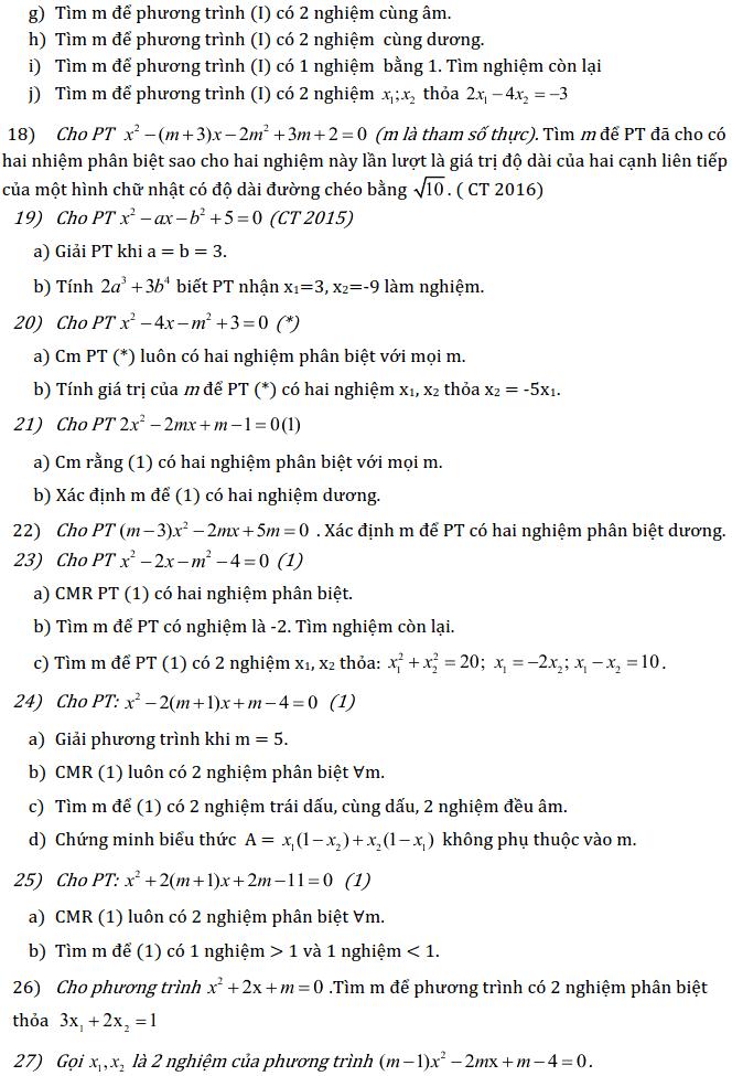 Chủ đề 3: Phương trình và Hệ phương trình - Phần Đại số-7