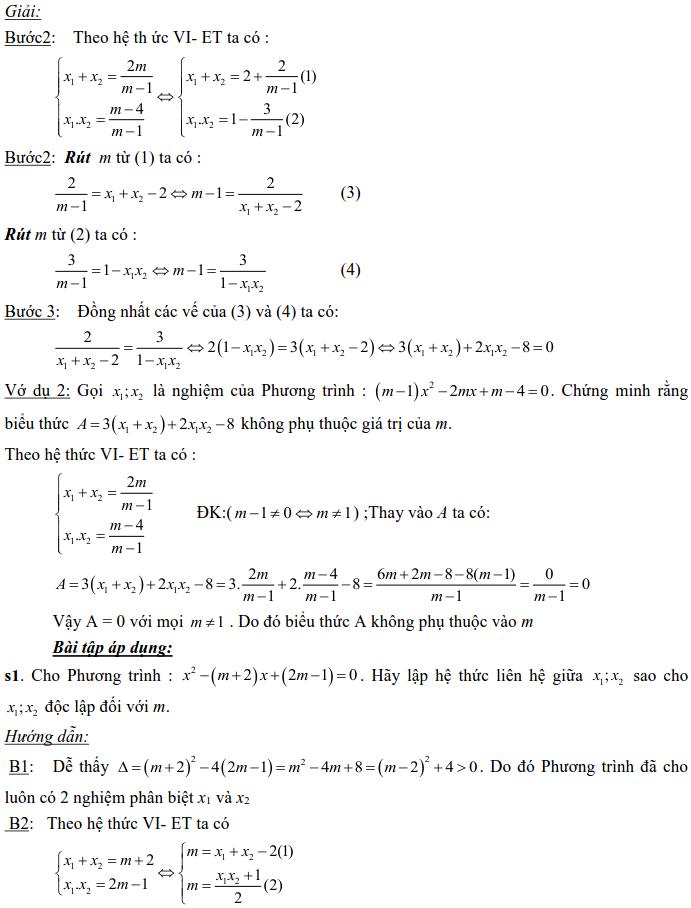 Dạng 3: Phương trình và hệ phương trình-10