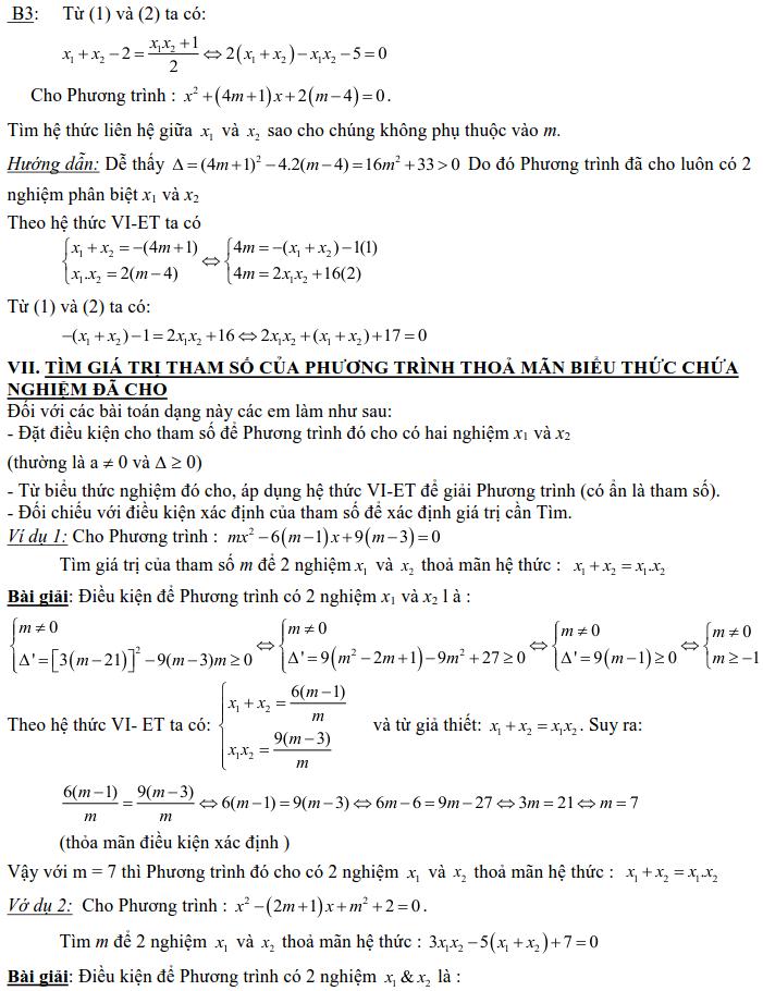 Dạng 3: Phương trình và hệ phương trình-11