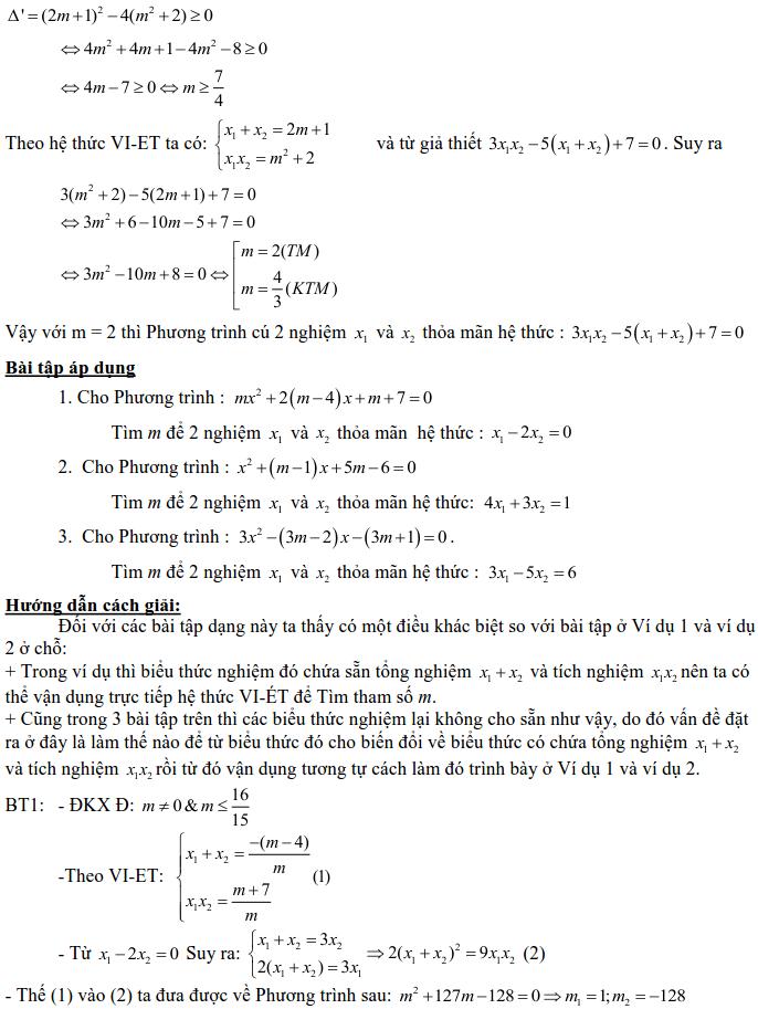 Dạng 3: Phương trình và hệ phương trình-12
