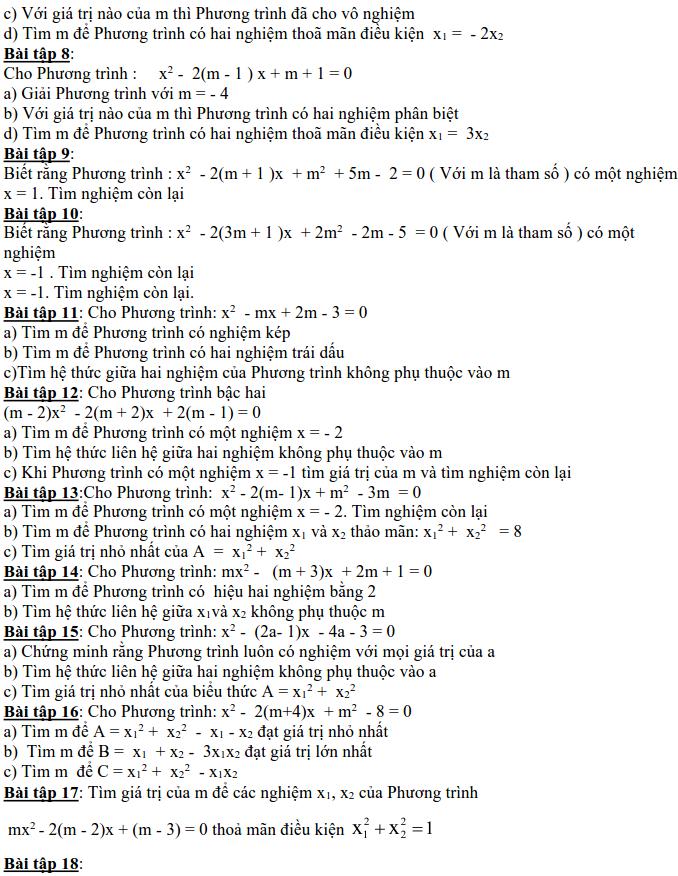 Dạng 3: Phương trình và hệ phương trình-17