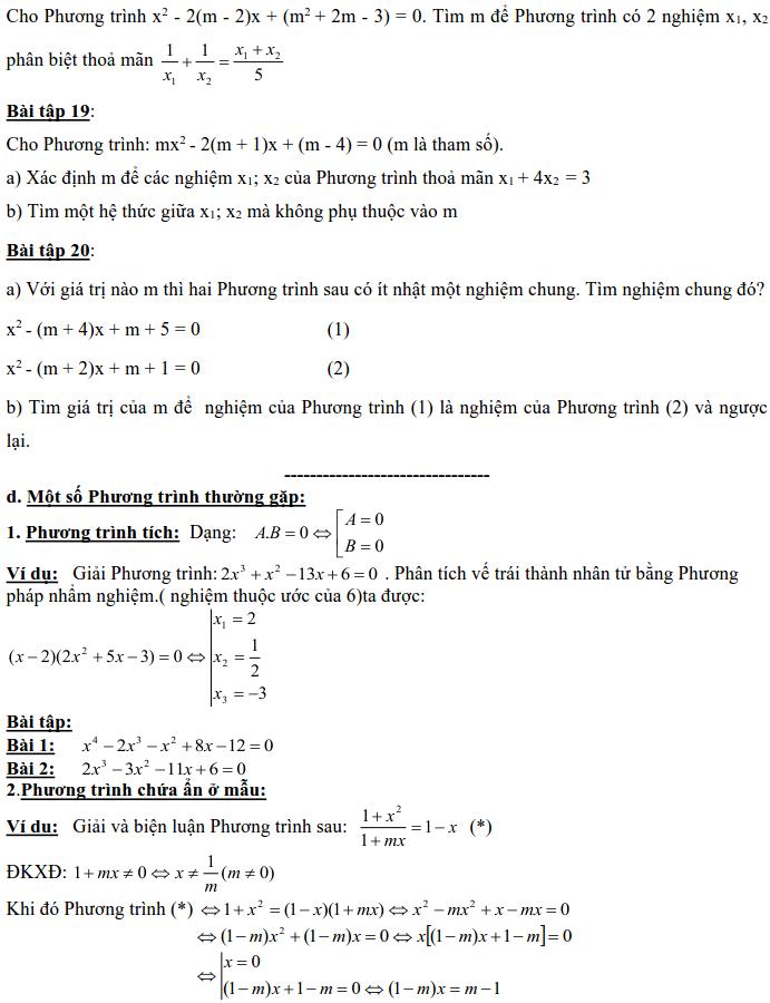 Dạng 3: Phương trình và hệ phương trình-18