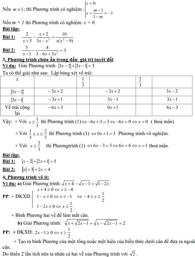 Dạng 3: Phương trình và hệ phương trình-19