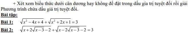 Dạng 3: Phương trình và hệ phương trình-20