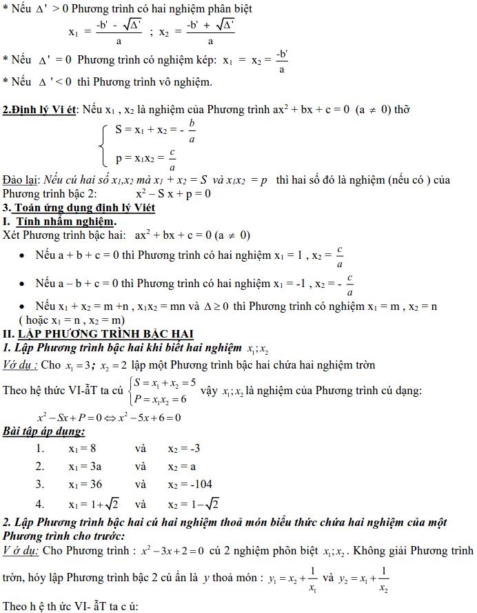 Dạng 3: Phương trình và hệ phương trình-5