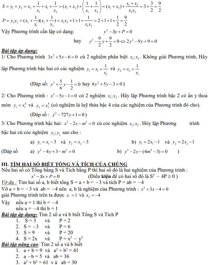 Dạng 3: Phương trình và hệ phương trình-6