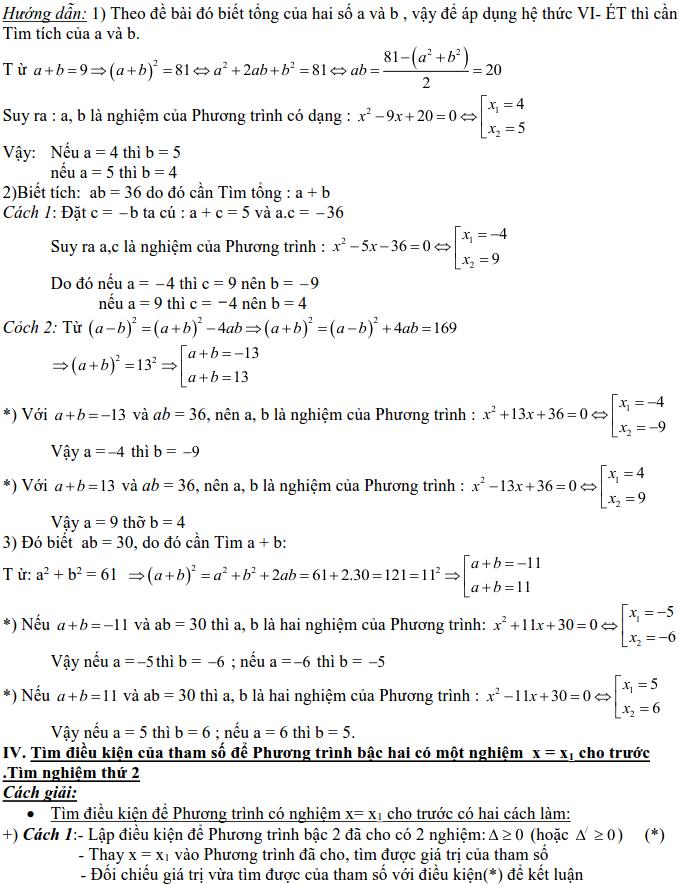 Dạng 3: Phương trình và hệ phương trình-7