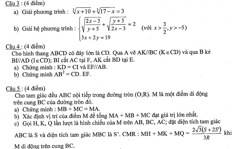 Đề thi HSG môn Toán lớp 9 tỉnh Kiên Giang năm học 2012-2013-2