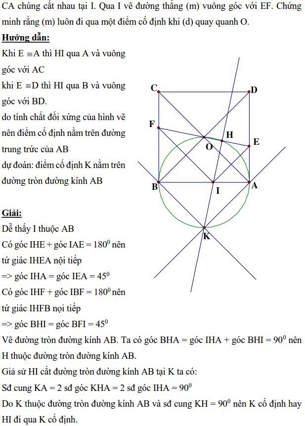 Ôn tập: Chứng minh đường thẳng đi qua điểm cố định-7
