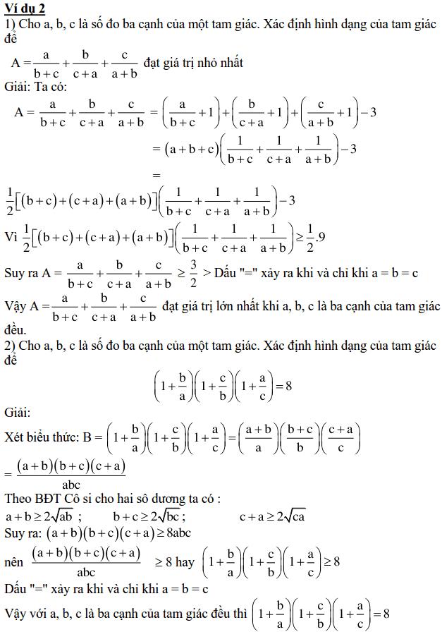 Ứng dụng của bất đẳng thức trong Toán THCS-1
