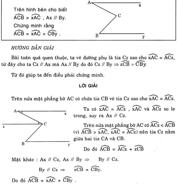 Vẽ thêm yếu tố phụ để giải bài toán chứng minh góc-1