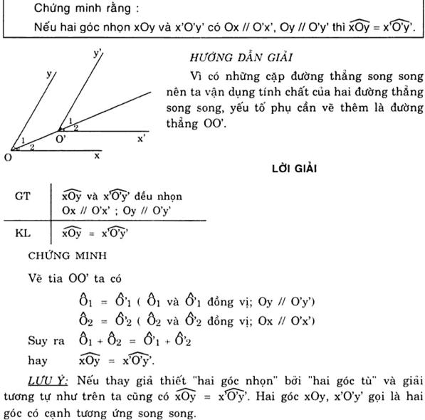 Vẽ thêm yếu tố phụ để giải bài toán chứng minh góc-2
