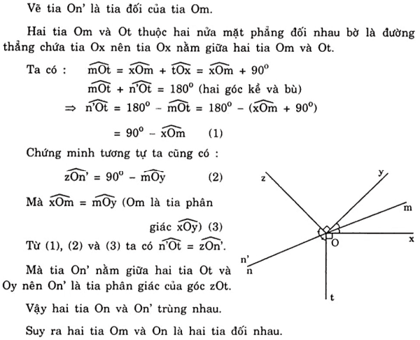 Vẽ thêm yếu tố phụ để giải bài toán hai góc đối đỉnh-5