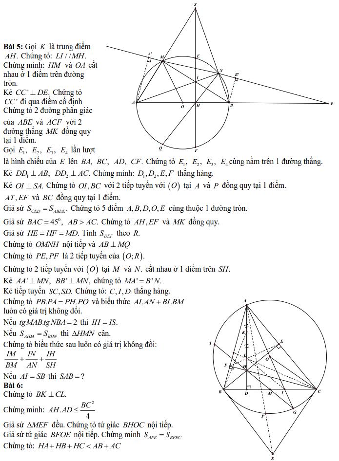 6 bài toán trực tâm của tam giác-3