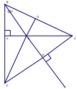 Một số bài tập toán Hình học 7 ôn tập học kì 1 có lời giải