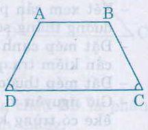 Định nghĩa, dấu hiệu nhận biết hình thang cân