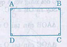 Định nghĩa, tính chất hình chữ nhật