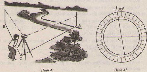 Thực hành đo góc trên mặt đất