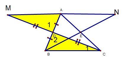 Ví dụ cách chứng minh hai tam giác bằng nhau