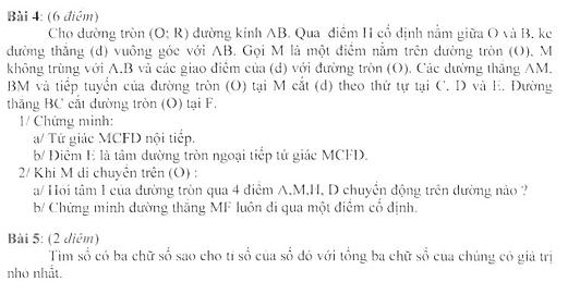 Đề thi HSG môn Toán lớp 9 tỉnh Bình Thuận năm học 2012-2013
