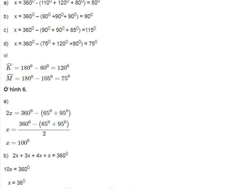 Tìm hiểu các dạng toán thuộc chương Tứ giác của Hình lớp 8