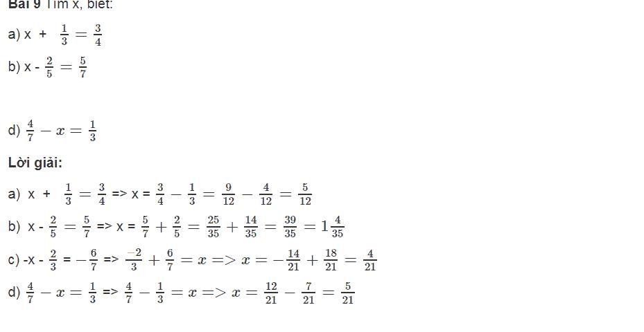 Luyện tập một số dạng toán chủ đề cộng trừ số hữu tỉ toán lớp 7