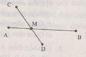 Ôn tập phần ba điểm thẳng hàng của Hình học lớp 6 cơ bản