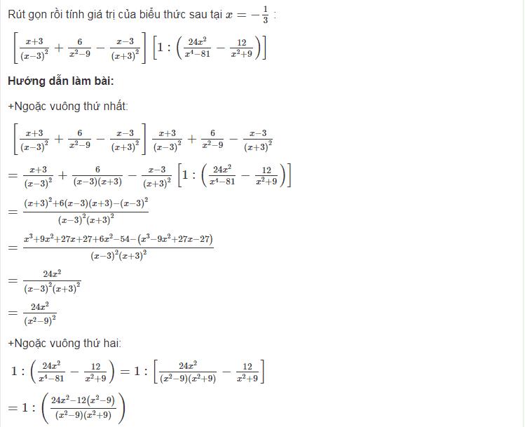 Chuẩn bị một số dạng toán lớp 8 cơ bản ôn tập trước kỳ thi cuối kỳ