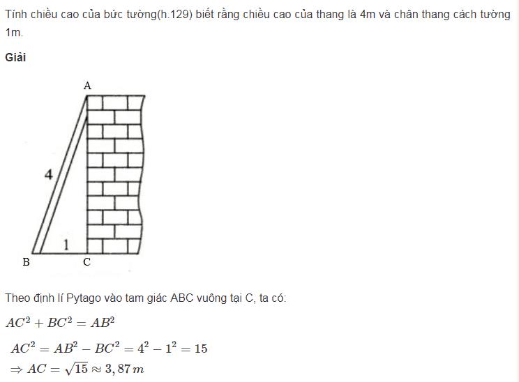 Tìm hiểu về định lý Pytago cơ bản của toán lóp 7