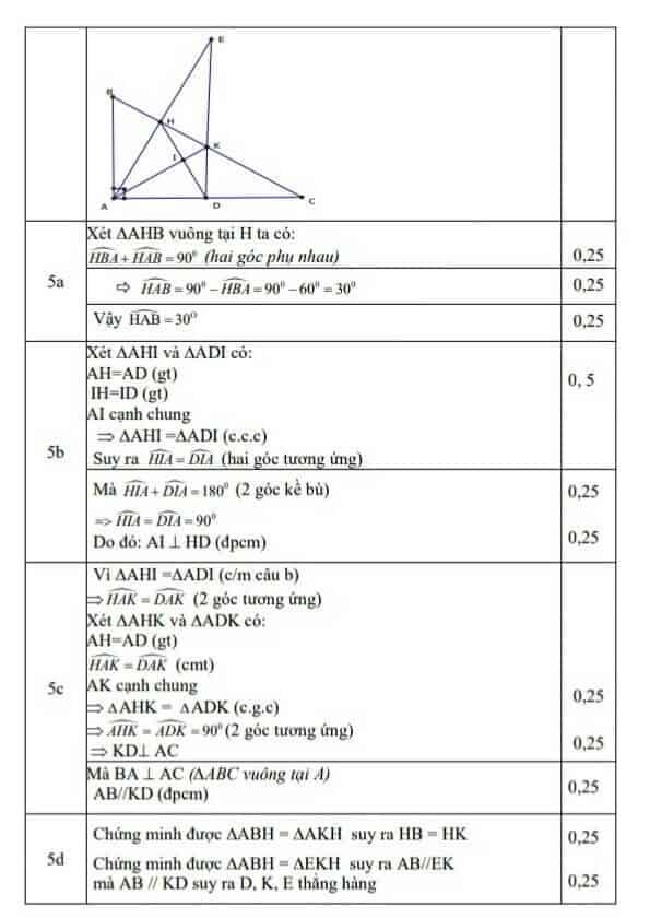 Đề kiểm tra học kì 1 môn Toán 7 huyện Thái Thụy 2018-2019 có đáp án-4