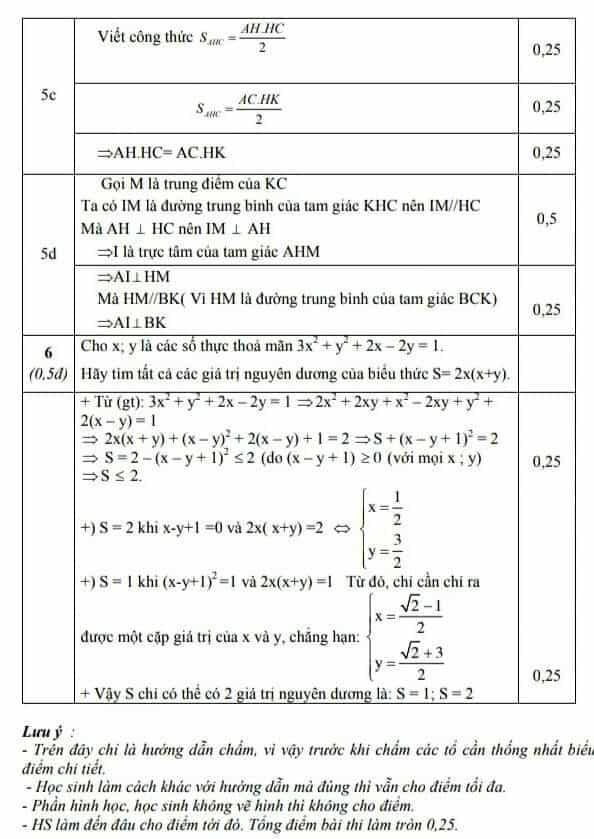 Đề kiểm tra học kì 1 môn Toán 8 huyện Thái Thụy 2018-2019 có đáp án-4