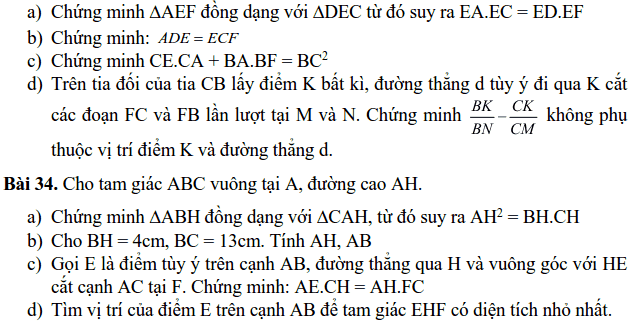 Đề cương ôn tập HK2 môn Toán 8 THCS Nghĩa Tân 2018-2019-6