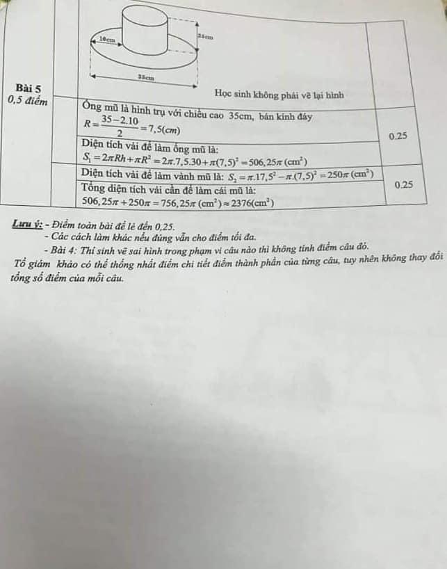 Đề thi HK2 môn Toán 9 quận Long Biên năm 2018-2019 có đáp án-3