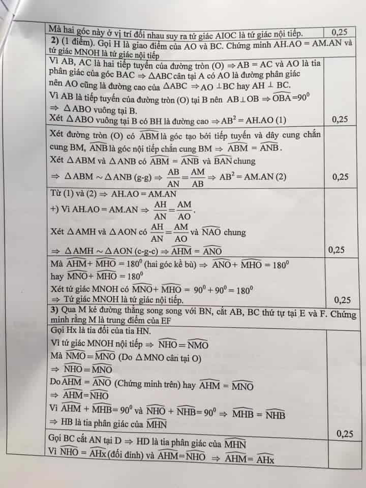Đề thi Toán vào 10 tỉnh Hải Dương năm 2019-2020 có đáp án-4