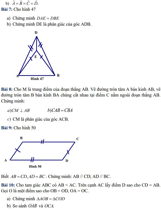 Bài tập tuần 11 – Toán lớp 7 – THCS Dịch Vọng Hậu-1