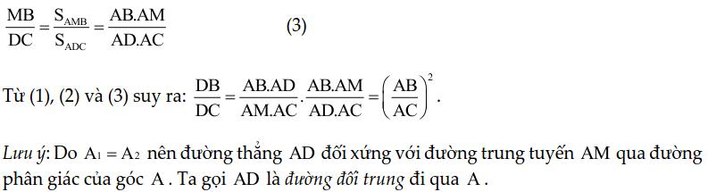 Chuyên đề tam giác đồng dạng - Toán lớp 8-3
