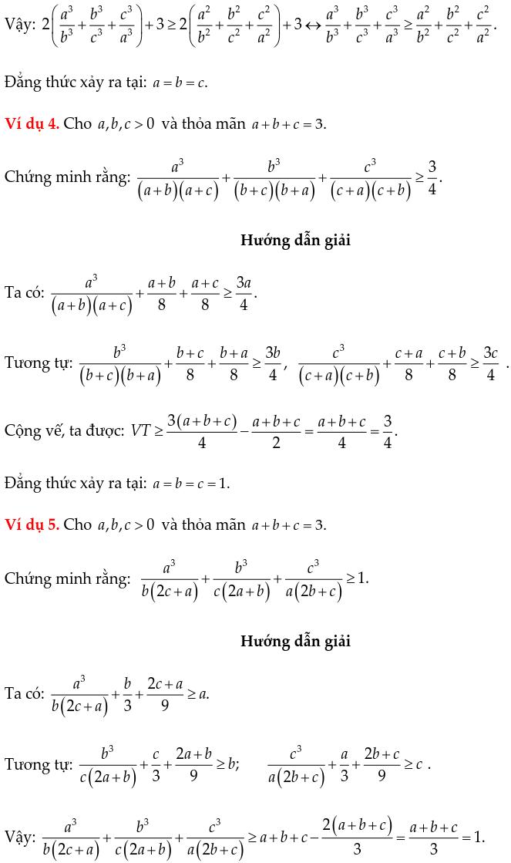 Một số ví dụ chứng minh BĐT bằng phương pháp ghép cặp-1