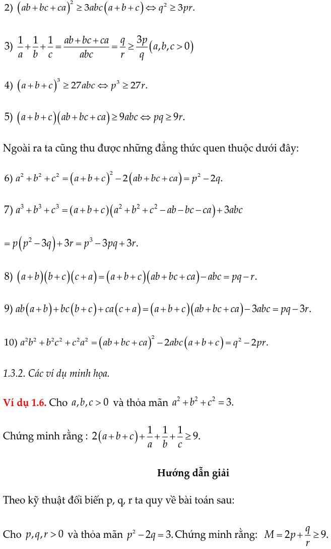 Phương pháp đổi biến chứng minh bất đẳng thức-4